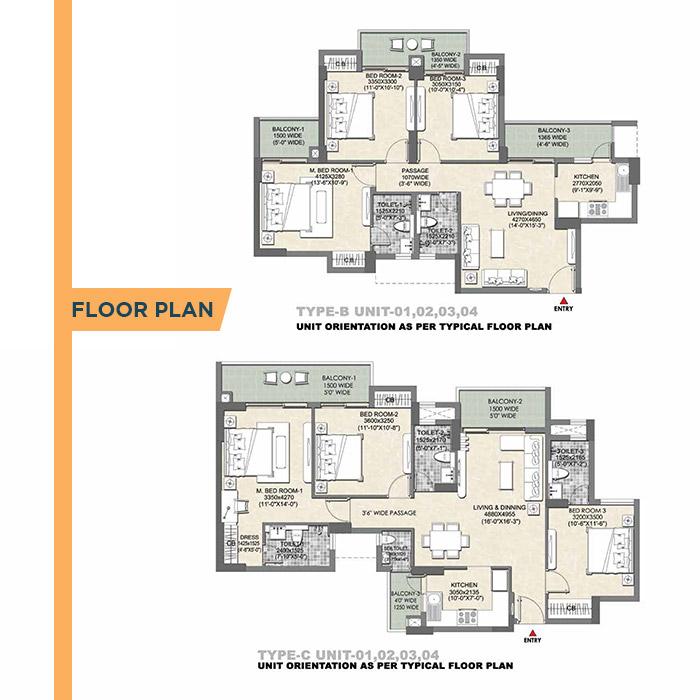 Tata Eureka Park Floor Plan